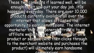 Work From Home Business Success Affiliate Marketing